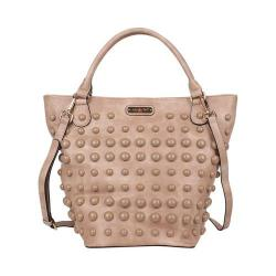 Women's Nicole Lee Mavis Pearl Tote Bag Beige