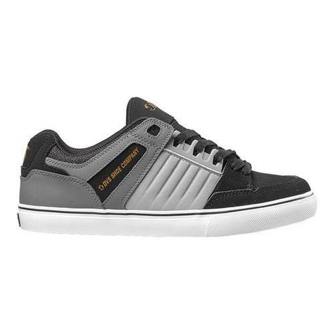 Men's DVS Celsius CT Sneaker Charcoal/Grey/Black Leather