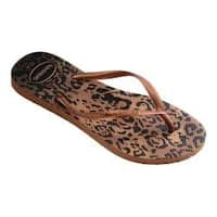 Women's Havaianas Slim Animals Flip Flop Rust
