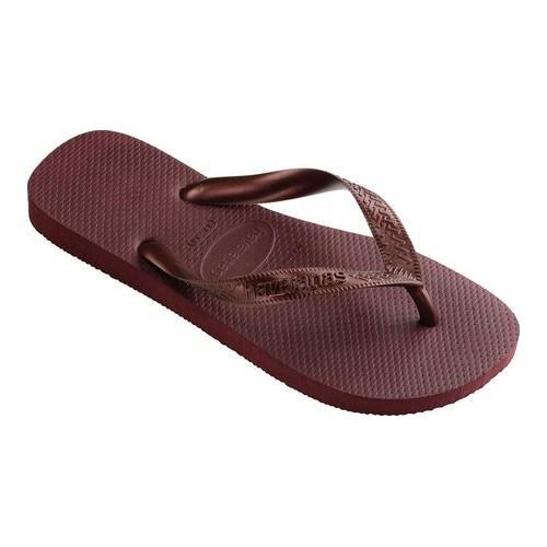 d2584e8364a65c Shop Women s Havaianas Top Tiras Flip Flop Grape Wine - Free ...