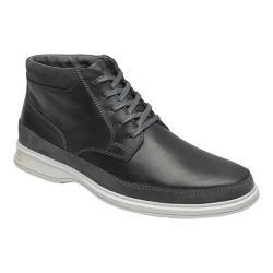 Men's Rockport Dressports 2 Go Ankle Boot Castlerock Grey Leather