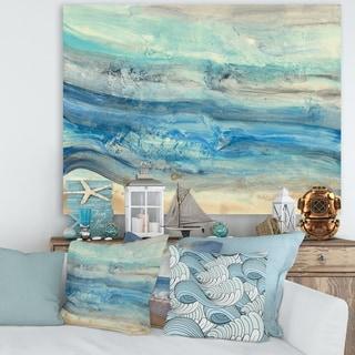 Porch & Den Ocean Mineral Waves' Canvas Art