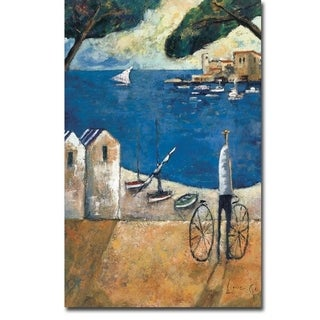 Brisa Marina (Sea Breeze) by Didier Lourenco Gallery Wrapped Canvas Giclee Art (35 in x 23 in, Ready to Hang)