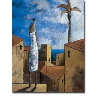 Brisa Junto el Mar (Breeze by the Sea) by Didier Lourenco Gallery Wrapped Canvas Giclee Art (28 in x 22 in, Ready to Hang)