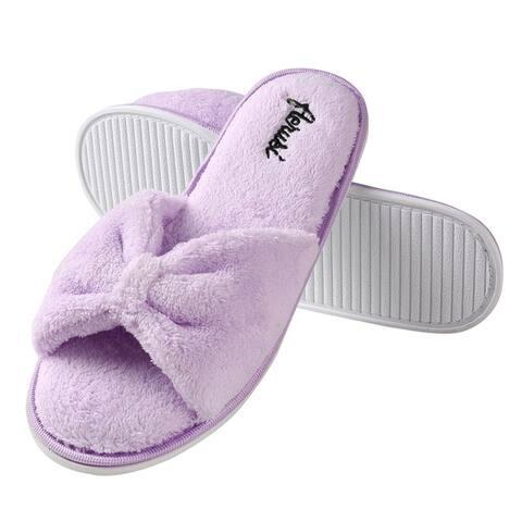 Aerusi Cozy Slide SPA Memory Foam Women Home Slipper