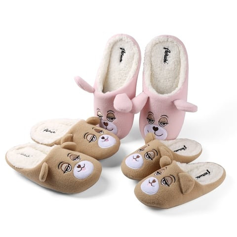 Aerusi Adult Flopsy Bear Slipper