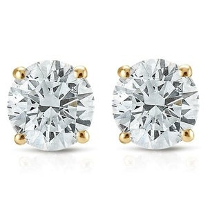 Link to Pompeii3 14k White or Yellow Gold 3/4 ct TDW Diamond Studs Similar Items in Earrings