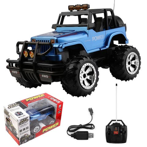 1:16 Scale 4WD Radio Remote Control Extreme Terrain Utility Vehicle for Kids