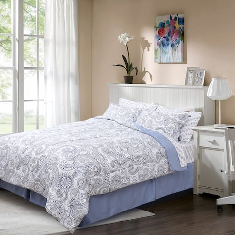 HONEYMOON HOME FASHIONS Comforter Set Bed in A Bag