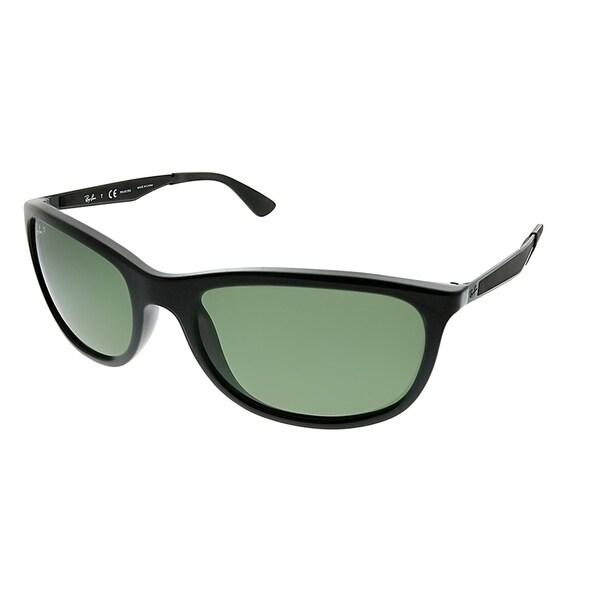 e07abce3f8 Ray-Ban Sport RB 4267 601 9A Unisex Black Frame Green Polarized Lens  Sunglasses