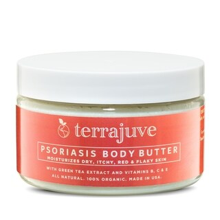 Psoriasis Body Butter with Green Tea Extract and Vitamins B, C, E