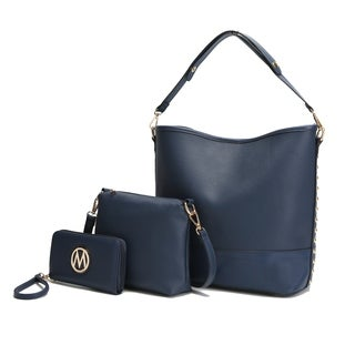 MKF Collection Whit Hobo with Pouch & Wallet by Mia K. Farrow