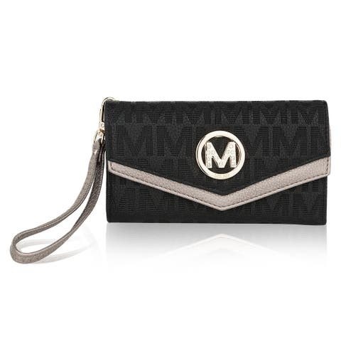 MKF Collection Jaye M Signature Wallet by Mia K.