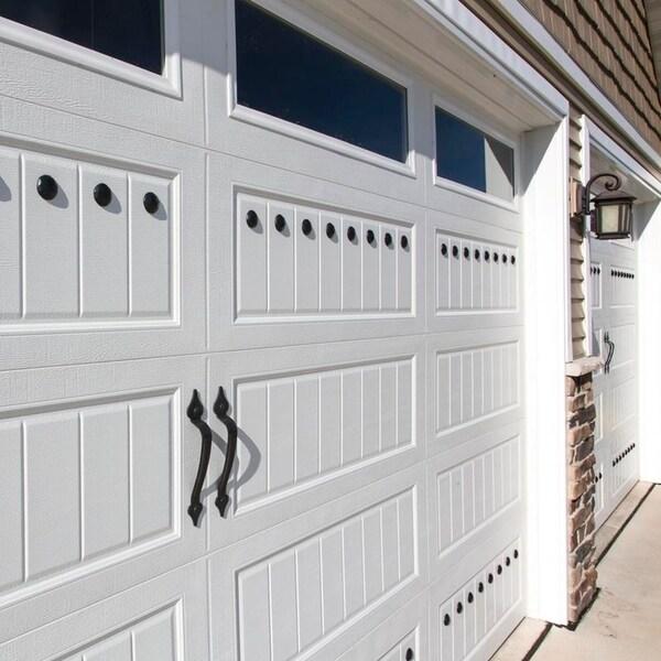 """MAGNETIC Garage Door Decorative Hardware Works on ANY Steel Door 24/"""""""