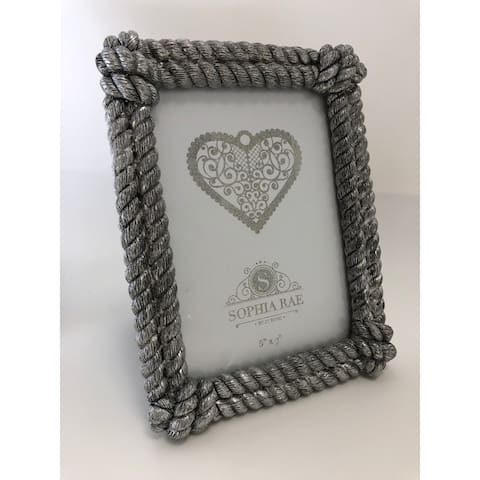 4X6 Gold Rope Picture Frame