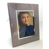4x6 Snake Glass Picture Frame