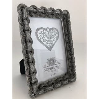 4X6 Silver Chain Picture Frame