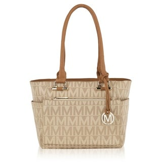 MKF Collection Jazlynn M Signature Tote Bag by Mia K.