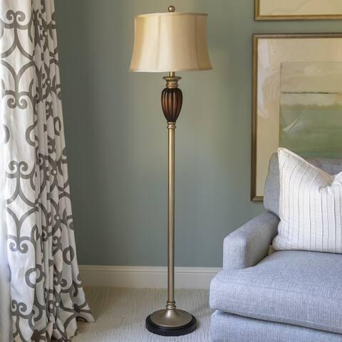 "Fowler 66.5"" Multi Finish Transitional Floor Lamp"