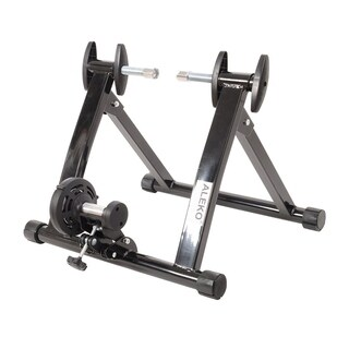 ALEKO Portable Indoor Magnetic Bicycle Exercise Trainer Bike Stand