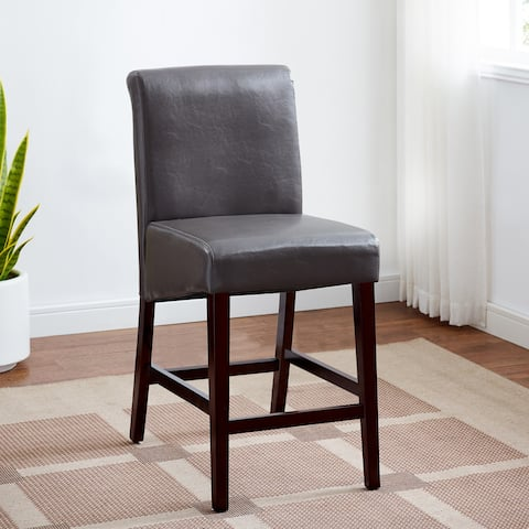 Reagan Faux Leather Bar Stool