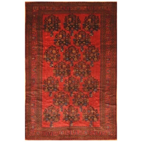 Handmade Balouchi Wool Rug (Afghanistan) - 7' x 10'5