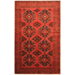 Handmade Balouchi Wool Rug (Afghanistan) - 7'4 x 11'6