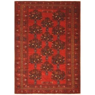 Handmade Balouchi Wool Rug (Iran) (Afghanistan) - 7' x 9'8
