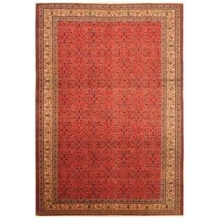 Handmade Herat Oriental Turkish Hand-knotted Semi-Antique Kayseri 1960's Wool Rug (6'7 x 9'5) - 6'7 x 9'5