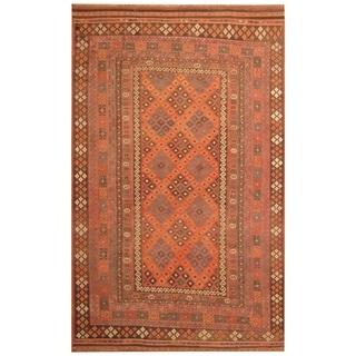 Handmade Mimana Wool Kilim (Afghanistan) - 8' x 13'1