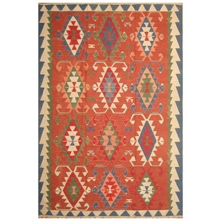 Handmade Anatolia Wool Kilim (Turkey) - 8'9 x 13'1