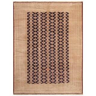 Handmade Turkoman Wool Rug (Turkmenistan) - 8'4 x 11'2