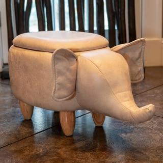 Elephant Storage Stool