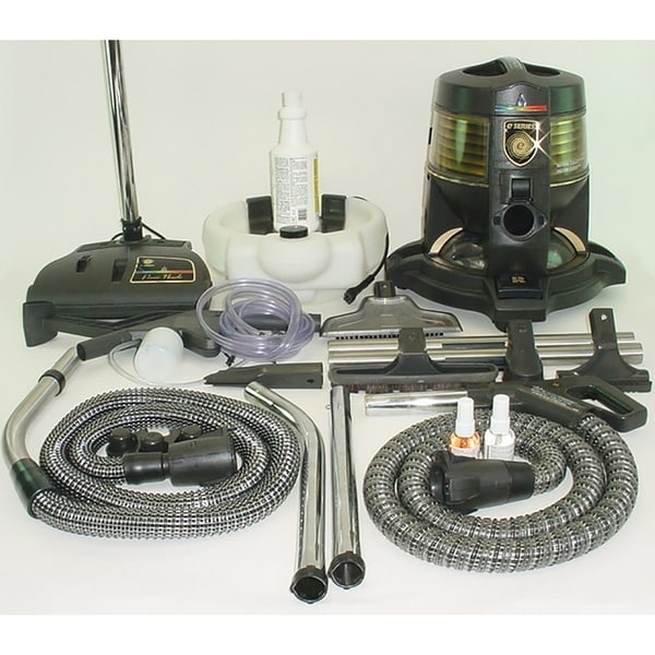 Reconditioned Rainbow E series E2 Canister Bagless Vacuum Cleaner w/ Aquamate 2 & With New Aftermarket Tools & Attachments