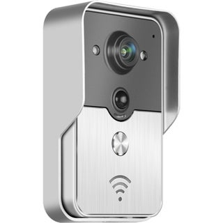 ALEKO WIFI Wireless Visual Intercom Smart Doorbell for Smartphones and Tablets