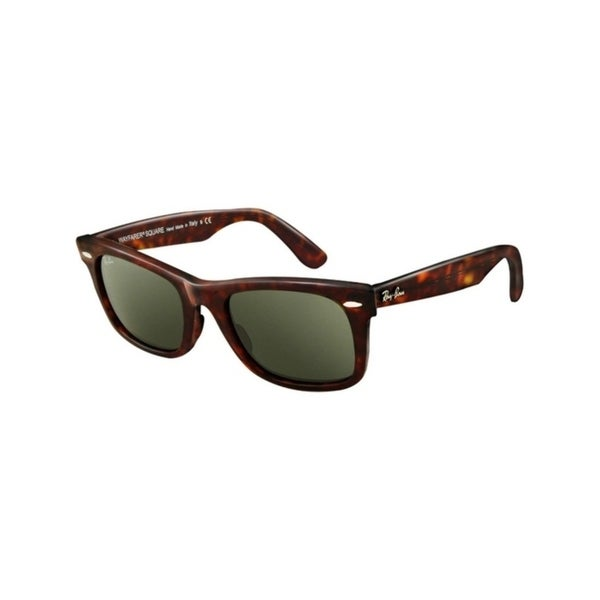 c9aaa13445 Ray-Ban RB2151 Wayfarer Square Men Sunglasses - tortoise   crystal green ( 52mm)