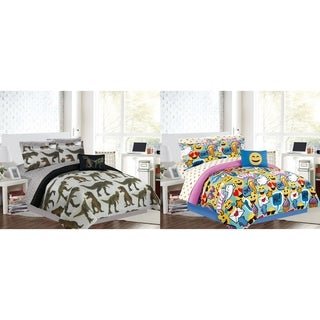 Manhattan Heights Printed 6 Piece Bed in a Bag
