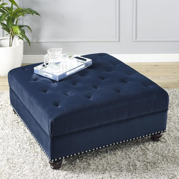 Admirable Shop Dorel Fine Furnishings Charlize Tufted Ottoman Free Pabps2019 Chair Design Images Pabps2019Com