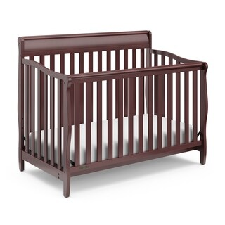 Graco Stanton 4 in 1 Convertible Crib with Adjustable Height Mattress and Converts to Toddler Bed & Day Bed