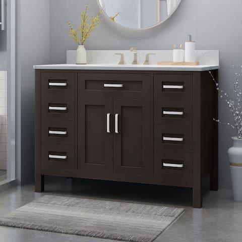 Buy 48 Inch Bathroom Vanities & Vanity Cabinets Online at ...