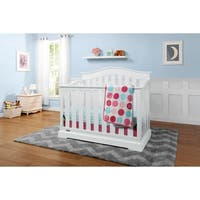 Graco Westbrook 4 in 1 Convertible Crib with Adjustable Height Mattress and Converts to Toddler Bed & Day Bed
