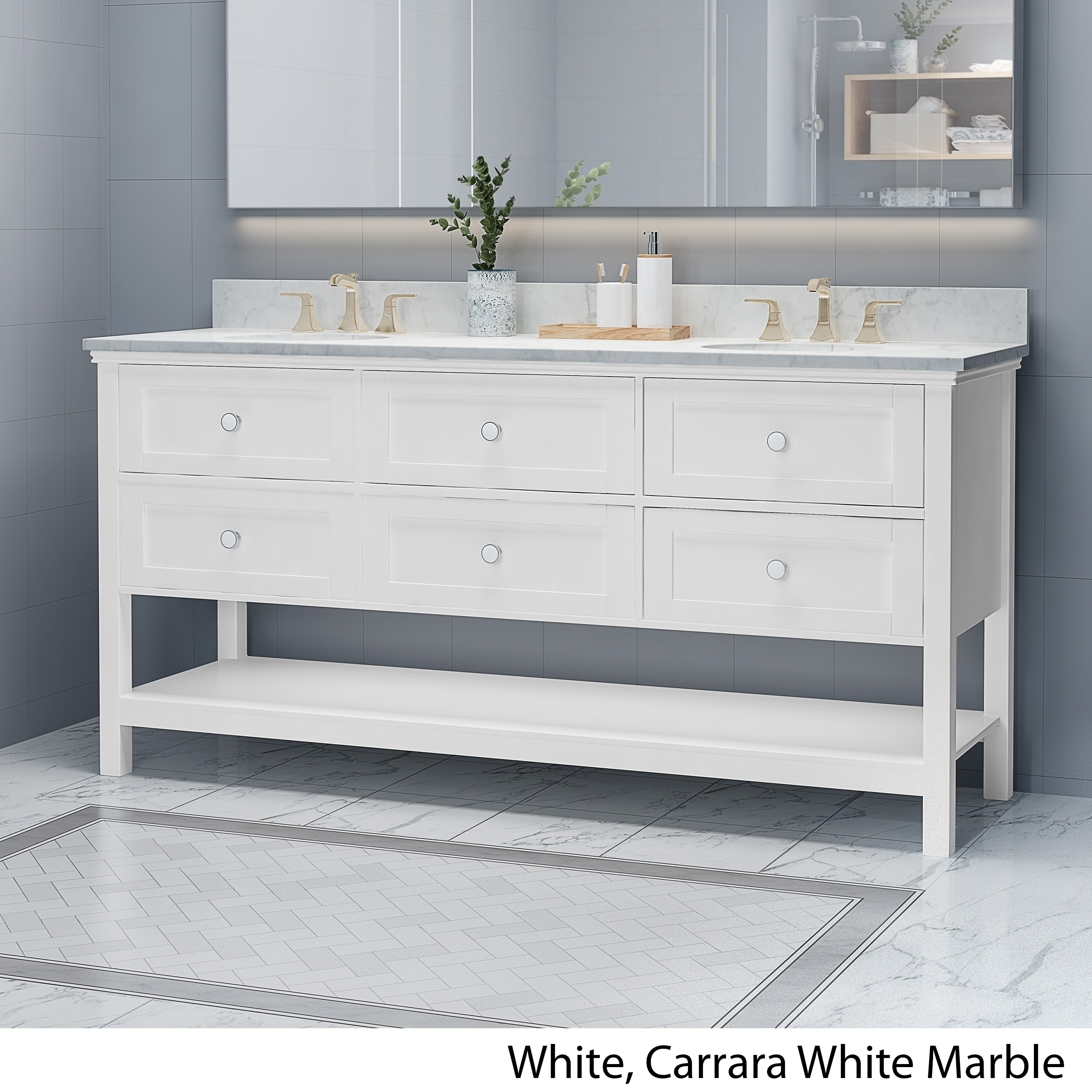 Details About Douvier Contemporary 72 Wood Double Sink Bathroom Vanity