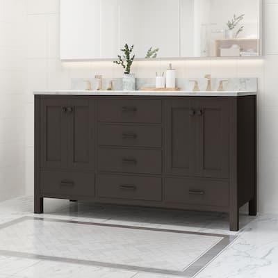 Double 60 Inch Bathroom Vanities Vanity Cabinets