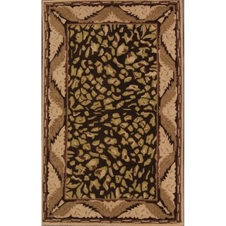 """Link to Agra Oushak Traditional Hand Made Oriental Floral Area Rug - 7'10"""" x 4'11"""" Similar Items in Rugs"""