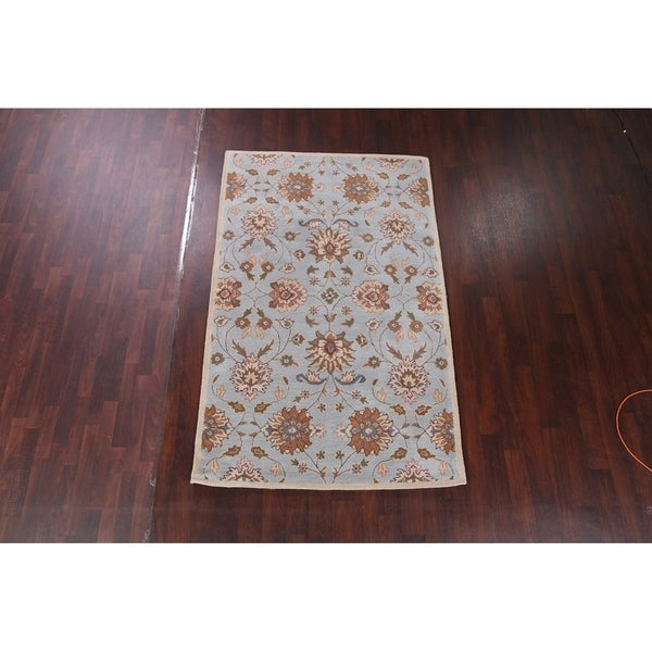 Shop Classical Kashan Medallion Hand Knotted Persian Wool: Shop Hand Tufted Classical Tabriz Persian Style Oriental
