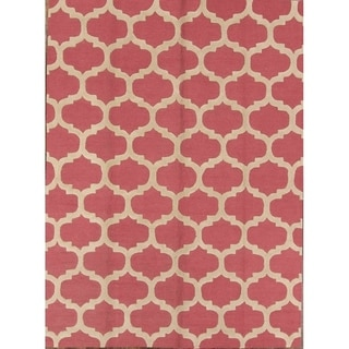 "Porch & Den Torbank Hand-tufted Wool Moroccan Trellis Area Rug - 10'10"" x 8'1"""