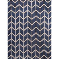 """Moroccan Trellis Hand Knotted Oriental Modern Area Rug - 12'0"""" x 9'0"""""""