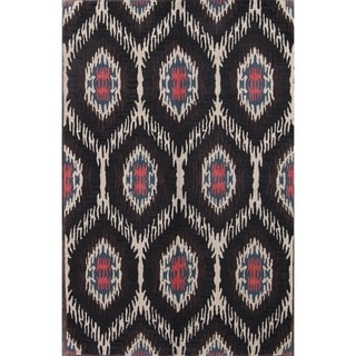 """Link to Oushak Hand Made Agra Floral Indian Oriental Floral Area Rug - 5'1"""" x 7'9"""" Similar Items in Rugs"""