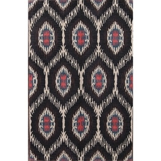 "Oushak Hand Made Agra Floral Indian Oriental Floral Area Rug - 5'1"" x 7'9"""