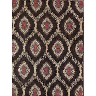 Handmade All Over Floral Oushak Agra Oriental Transitional Area Rug